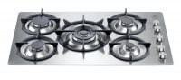 Cooktop a gás 5Q. Futura Single Support Hob inox 90cm
